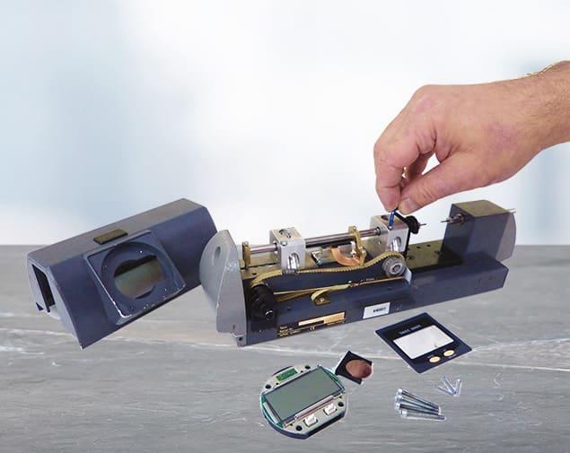 Réparation d'un banc de mesure