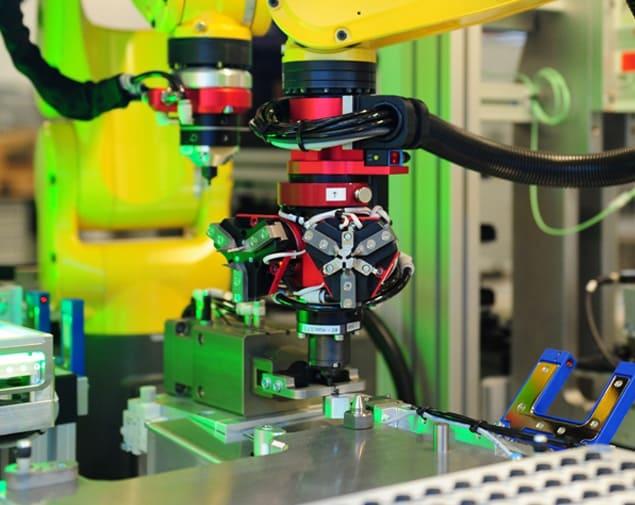 Robotique : Assemblage + Robot Fanuc